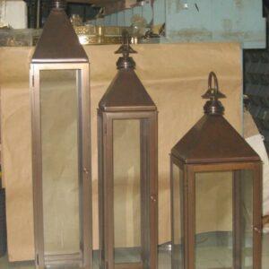 Lampade in metallo