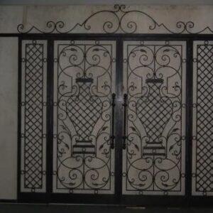 Ferro battuto cancello