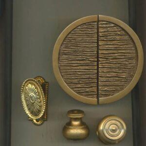 maniglia decorata